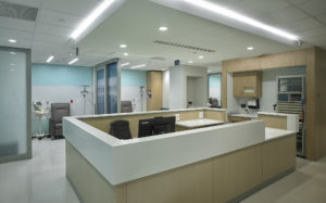UHealth Miami Transplant Institute for ANF Group, Miami, FL Nurses Station